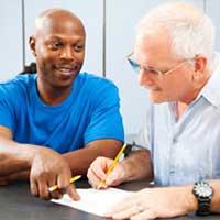 tutoring adult student driver