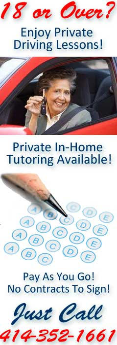 Private Adult Driving Lessons and Tutoring